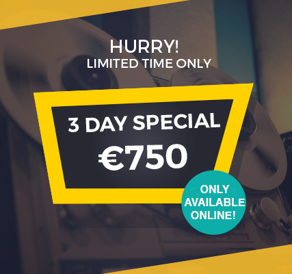 3-DAY-special NO DEAL